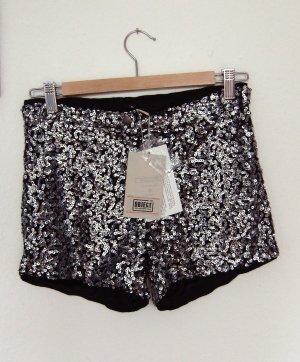 Hotpants elegante Shorts Blogger Style Black