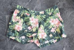Hotpants, Gr. XS, Blümchendruck, Hawai