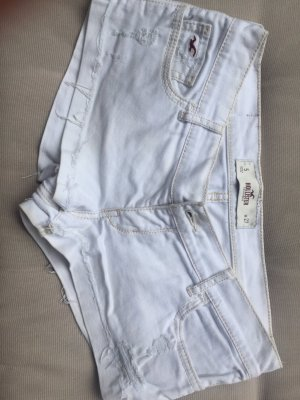 Hotpants Hollister W27 weiß