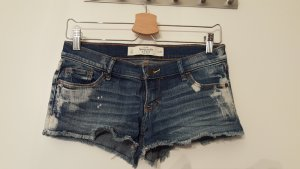 Abercrombie & Fitch Hot pants donkerblauw-azuur