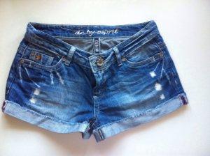Hotpants im used-Look von Esprit