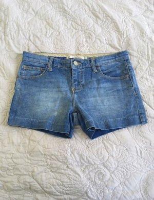 Hotpants im Used Look von Zara