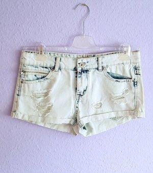 place du jour Hot Pants multicolored cotton