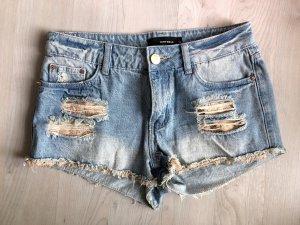 Tally Weijl Pantaloncino di jeans multicolore