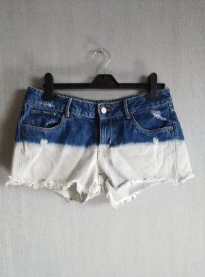Hotpants Kurze Hose Batik Jeans