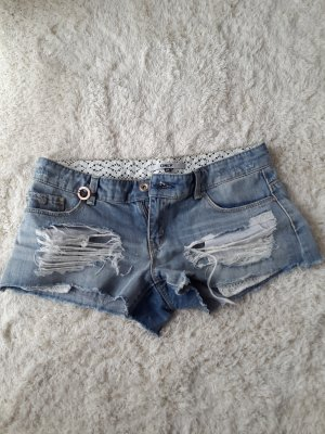 Hotpants kurze Hose Jeansshort used ONLY