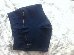 Hotpants mit schicken Reisverschlüssen