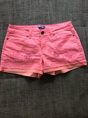 Hotpants neon Pink / rosa Gr 44