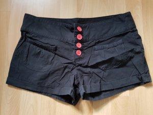 Hotpants schwarz Gr. 40