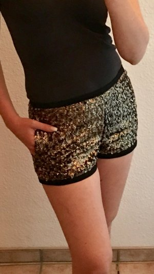 Hotpants Short Pailletten von Mango