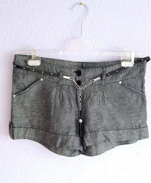 Tally Weijl Hot Pants multicolored linen