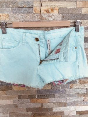 Hotpants Shorts in mintgrün von Mango in Gr. XXS