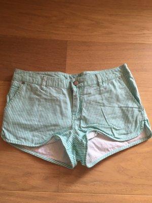 Hotpants Shorts kurze Hose gestreift süss Sommer pastell Gr. 34