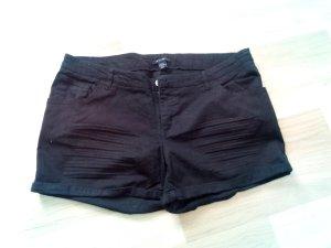 Hotpants von AMISU in schwarz