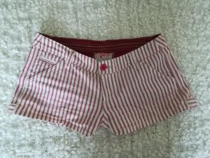 Heritage Hot Pants white-raspberry-red
