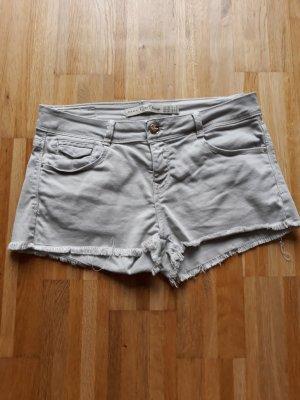 Zara Pantalón corto gris-beige