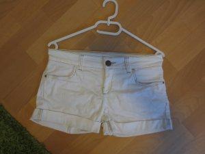 Hotpants weiß Hosen Jeans Shorts