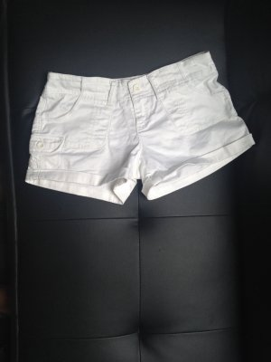 Fishbone Shorts white