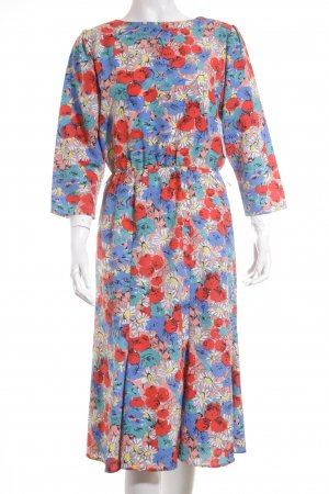 House of Fraser Midi Dress floral pattern romantic style