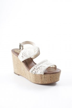 House of harlow 1960 Wedges Sandaletten mehrfarbig Beach-Look