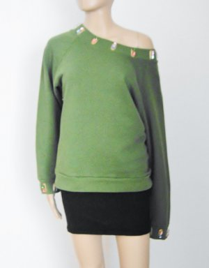 HOUSE OF HOLLAND Sweatshirt Designer Luxus