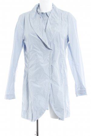 Hovman Jersey Twin Set himmelblau 80ies-Stil