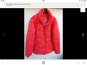 HRC Winterjacke, Anorack, rot, Gr. 44, XXL, sehr gut erhalten