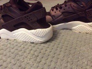 Nike Sneakers met veters wit-bordeaux