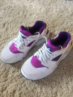 Huarache Nike sneaker 38 Weiss Lila magenta