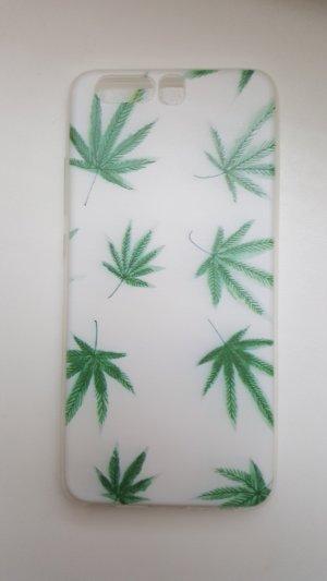 Carcasa para teléfono móvil blanco-verde