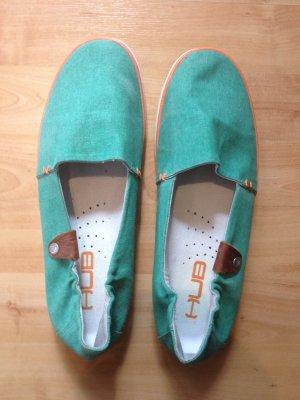 Hub Damen Slipper Fuji, grün, Größe: 40