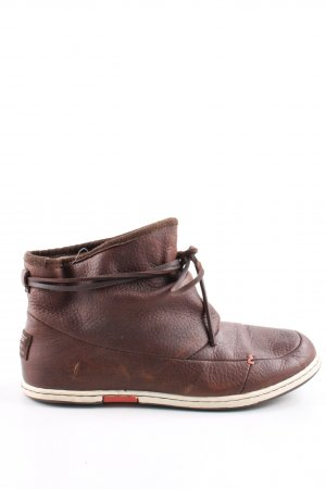 Hub Short Boots bronze-colored casual look