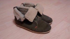HUB Winter Schuhe grau