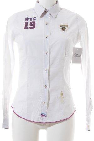Huberman's Hemd-Bluse mehrfarbig Casual-Look