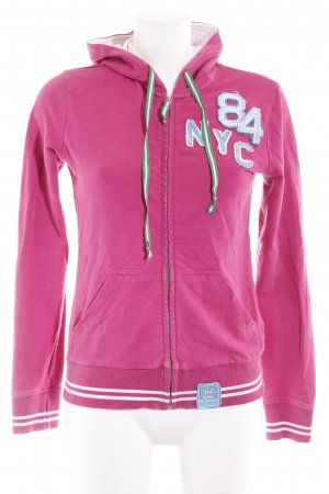 Huberman's Sweatjacke pink Casual-Look