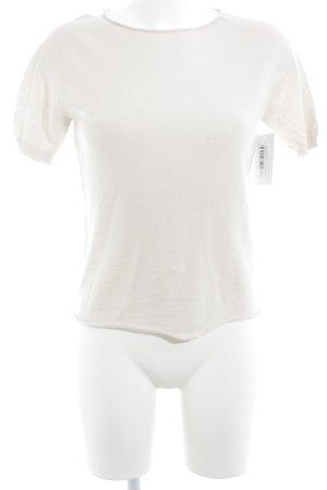 Hubert Gasser Bozen Camiseta crema estilo sencillo