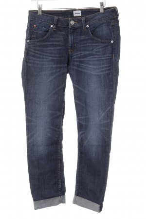 Hudson Boyfriendjeans blau Washed-Optik
