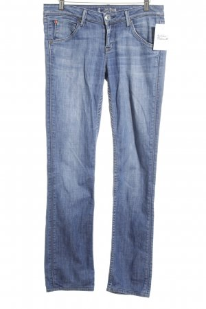 Hudson Low Rise Jeans blue street-fashion look