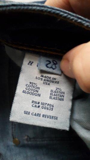 Hudson -Jeans Gr.28 blau-denim