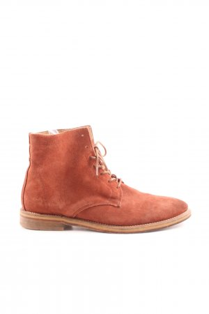Hudson Lace-up Booties light orange casual look