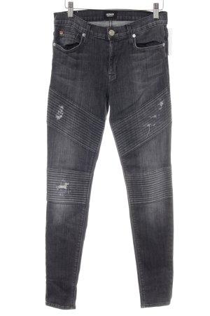 "Hudson Skinny Jeans ""Brooklyn"" taupe"
