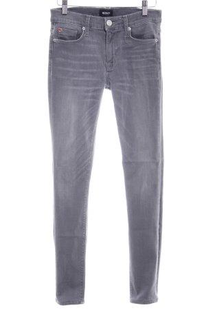 Hudson Slim Jeans grau Washed-Optik