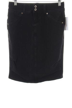 Hudson Stretch rok zwart casual uitstraling