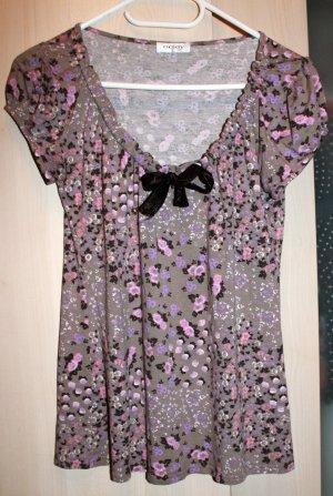 Hübbsches Blumen T-Shirt von Orsay Gr. M/L