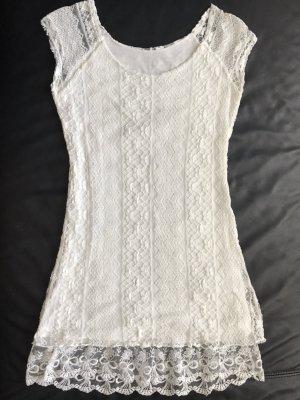 Hübsch und bequem! Kleid aus Spitze mit Stretch
