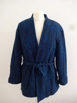 hübsche baumwoll Jacke paisleymotiv kimonooptik