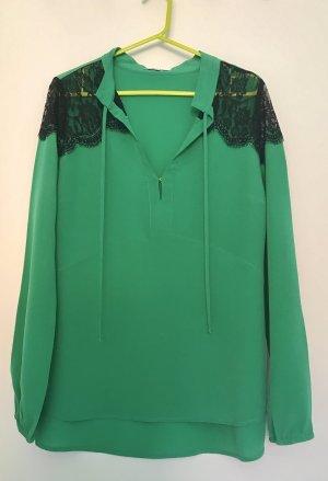 Hübsche Bicolor-Bluse von PATRIZIA PEPE