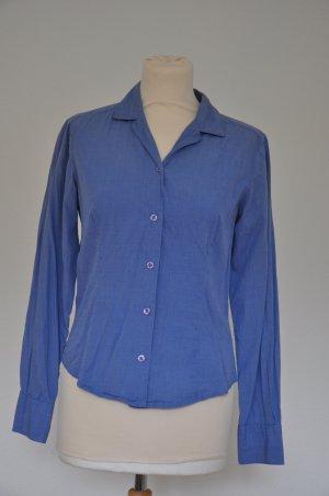 Hübsche blaue Bluse von Hennes collection in Größe XS (34)
