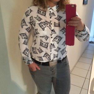 Hübsche Bluse in Gr.S von Fishbone. 2 mal getragen