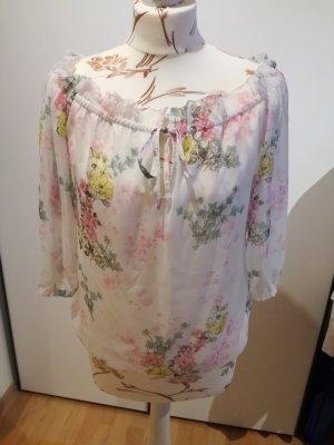 hübsche Bluse mit Blumen
